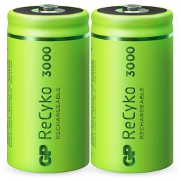 GP Baby C  Akku Batterie ReCyko LR14 1,2V wiederaufladbar 2er Blister