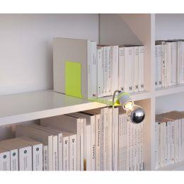 Toshi neongelbe Buchstützenleuchte mit E27-Fassung
