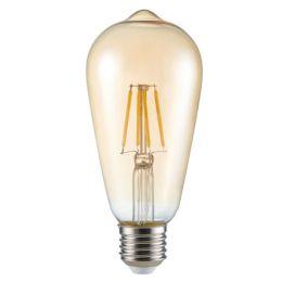 Kanlux goldene Retro-LED Rustikalampe ST64 FILLED 6W (51W) E27 825 NODIM