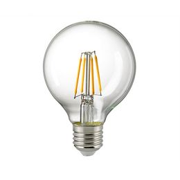 Sigor LED-Filament Globelampe Ø115mm 4,5W E27 827 DIM klar