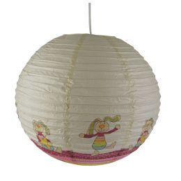 Niermann Papierballon-Pendelleuchte RAINBOW RABBIT