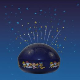Niermann batteriebetriebenes LED Nachtlicht PAW PATROL RGB mit Stern-Projektion