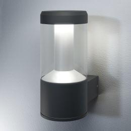 LEDVANCE schlichte LED Außen-Wandleuchte Facade Lantern 12W (48W) 830 IP54