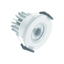 LEDVANCE feuerfester LED Spot Fire-Proof 7W (50W) 830 36° Ø68mm weiß
