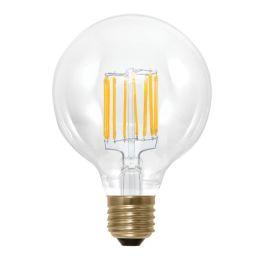 Segula LED Globelampe Ø95mm Vintage Line 6W (45W) E27 922 360° DIM klar