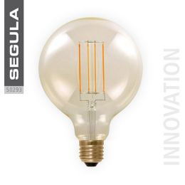 Segula goldene LED Globelampe Ø125mm Vintage Line 6W (30W) E27 920 DIM
