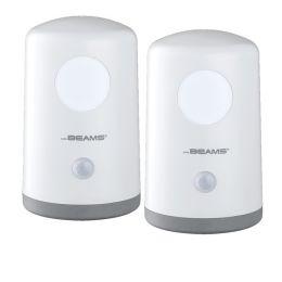 Mr Beams mobiles LED Nachtlicht mit Bewegungsmelder MB750 2er Pack weiß