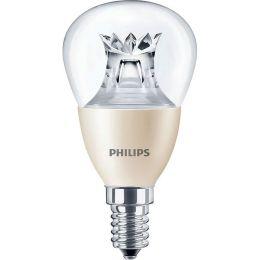Philips LED Tropfenlampe 4W (25W) E14 827 240° DIMTONE klar