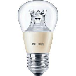 Philips LED Tropfenlampe MASTER 4W (25W) E27 827 240° DIMTONE klar