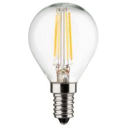 Müller-Licht retro LED Tropfenlampe 4W (40W) E14 827 360° NODIM klar