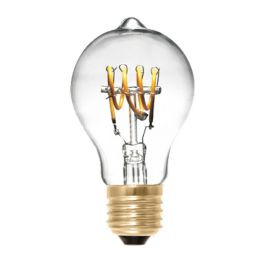 Segula LED Birnenlampe Curved Line 4W (15W) E27 922 360° DIM klar