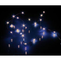 Hellum flexible Mini LED-Lichterkette 20 tlg. aus blankem Drahtkabel
