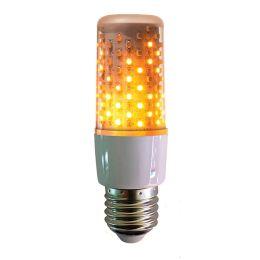 Firelamp LED Flammenlicht AGL 3W E27 1800K 64SMDs Klar White Feueroptik+Dauerlicht