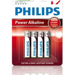Philips Micro AAA Batterie Power Alkaline LR03 1,5V 4er Pack