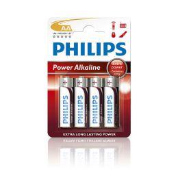 Philips Mignon AA Batterie Power Alkaline LR6 1,5V 4er Pack