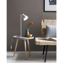 Nordlux moderne Tischleuchte Mercer - weiß