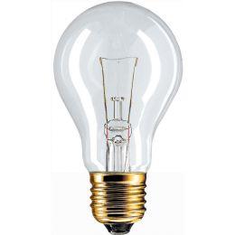 Niedervolt-Normallampen  - Standard-shaped incandescent lamp - Energieeffizienz- Stan ELV 60W E27/BRC 24V A60 CL 1CT/20