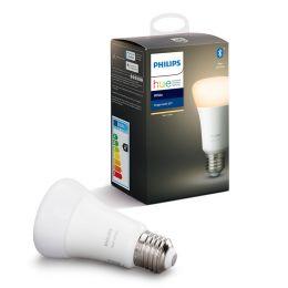 Philips Hue LED Birnenlampe White 9W (60W) E27 827 DIM