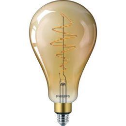 Philips LED Birnenlampe Giant Vintage 6,5W (40W) E27 820 300° DIM gold