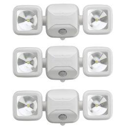 Mr Beams ultra starker LED Strahler MB3000 weiß mit Bewegungsmelder 3er Pack