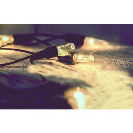 Firelamp 15m Mini-Lichterkette 100tlg. Indoor warmweiß NODIM