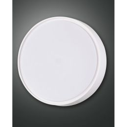 Fabas Luce LED Deckenleuchte Hatton 27W 830 Ø300mm