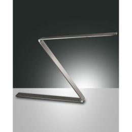 Fabas Luce LED Tischleuchte Fitz 10W mit Touch-Dimmer anthrazit