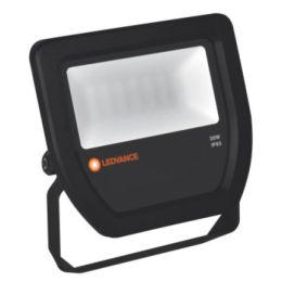 LEDVANCE schwarzes LED FLOODLIGHT 20W (120W) 830 100° symmetrisch