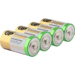 GP Batterie Super Alkaline LR14 C Baby 1,5V 4er-Pack