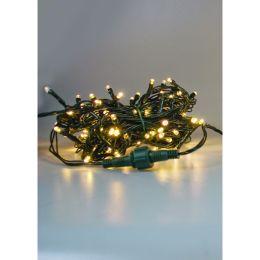 Firelamp 10m LED Mini-Lichterkette 20-tlg. outdoor indoor mit Trafo warmweiß DIM