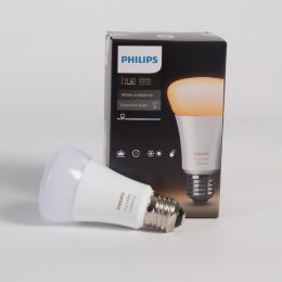 Philips Hue White Ambiance LED Birnenlampe 9,5W (60W) E27 822-865 DIM