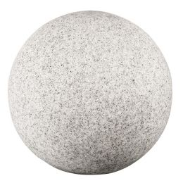 Kanlux runde Bodenleuchte STONO in Steinoptik max. 25W E27 Ø50cm
