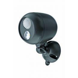 Mr Beams LED Scheinwerfer braun mit Bewegungsmelder MB360