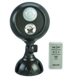 Mr Beams LED Scheinwerfer mit Bewegungsmelder/ Fernbedienung MB371 braun