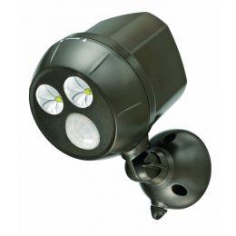 Mr Beams extra heller LED Scheinwerfer MB390 mit Bewegungsmelder braun