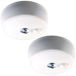 Mr Beams LED Deckenleuchte weiß mit Bewegungsmelder 2er Pack MB982