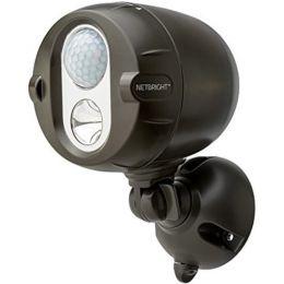 Mr Beams brauner NetBright LED Scheinwerfer mit Bewegungsmelder MBN350