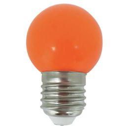 MegaMan LightME Deco LED Tropfenlampe 0,5W E27 Orange NODIM