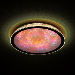 Megalight LED Leuchte SHINING MAGIC COLOUR 40W Lichttemperaturwechsel + Sleeptimer + Fernbedienung Ø500mm DIM