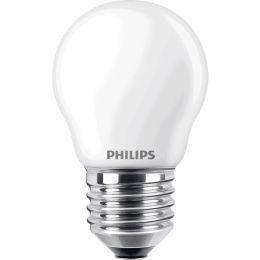 Philips LED Tropfenlampe Classic 4,3W (40W) E27 827 300° NODIM matt