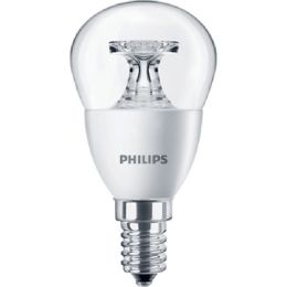 Philips LED Tropfenlampe CorePro 4W (25W) E14 827 NODIM klar