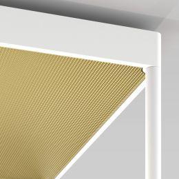 Serien Lighting REFLEX² Reflektor M aus Plexiglas Pyramidenstruktur gold