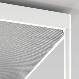 Serien Lighting REFLEX² Reflektor M aus Plexiglas Pyramidenstruktur silber