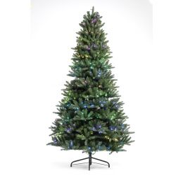 Trends and Lights Weihnachtsbaum inkl. LED-Lichterkette smart RGB 1,5m DIM