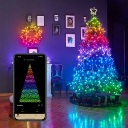 Trends and Lights 32m LED Lichterkette TWINKLY Strings smart RGB 400 tlg. DIM