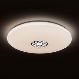 MegaLight LED Deckenleuchte SHINING ORIENTAL-ORNAMENT 60W mit Lichttemperaturwechsel + Sleeptimer + Fernbedienung Ø760mm