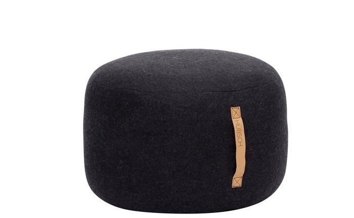 Hübsch Sitzsack schwarz klein