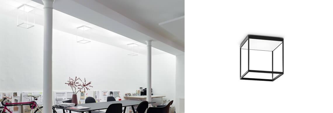 Serien Lighting REFLEX Deckenleuchte Würfel Rahmen