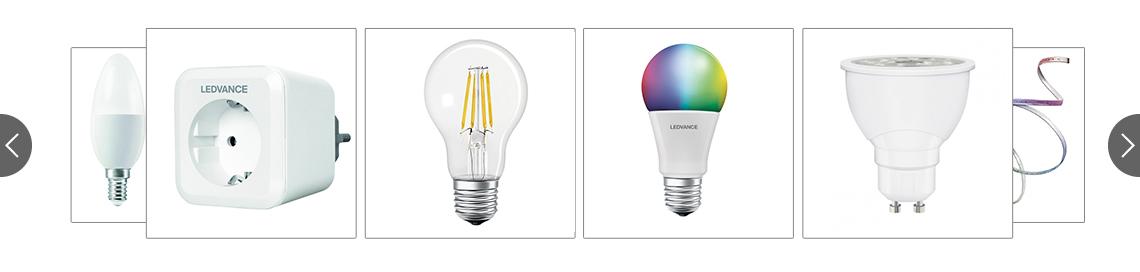 smart home lampen leuchten von osram ledvance