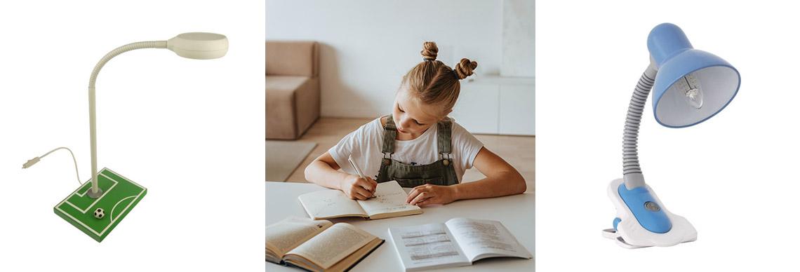 Kind Schreibtisch Lampe